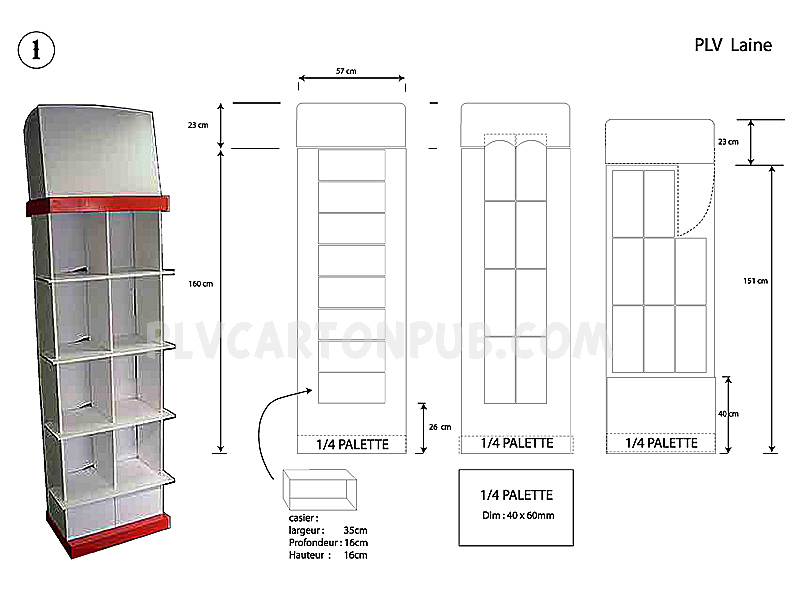 Fabricant de plv carton plvcartonpub for Prix etude de sol