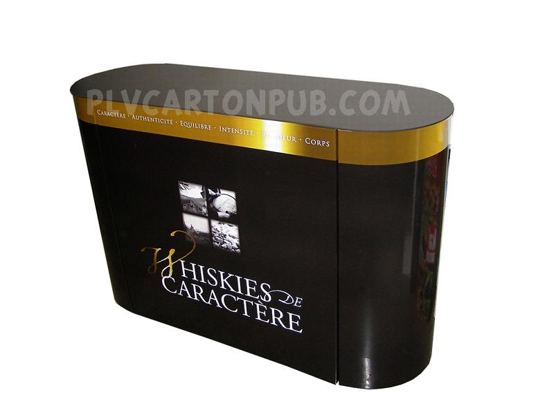 plv carton - différentes catégorie plv carton : stand en carton