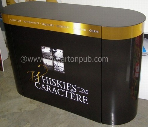 stand salon - Plv carton stand pour PDV