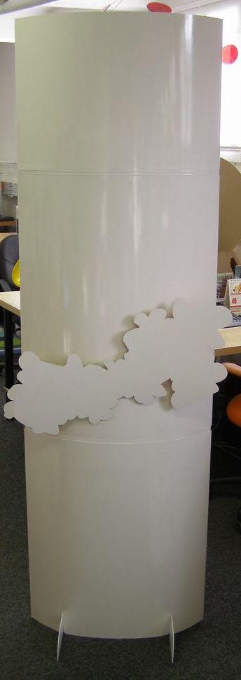 fabricant de plv carton - prototype de totem